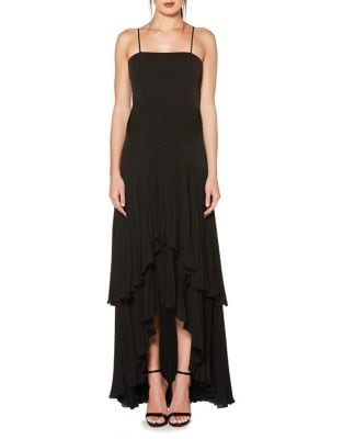Pleated Gown by Laundry by Shelli Segal