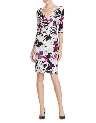 Floral Jersey Sheath Dress by Lauren Ralph Lauren