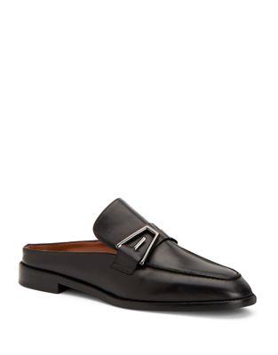 Tosca Leather Mules by Aquatalia