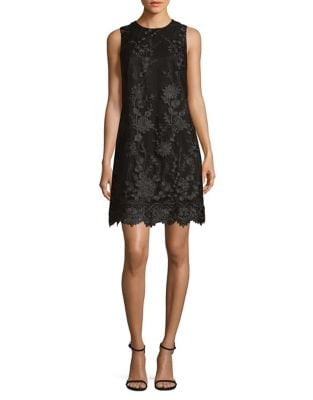 3D Floral Sheath Dress by Karl Lagerfeld Paris