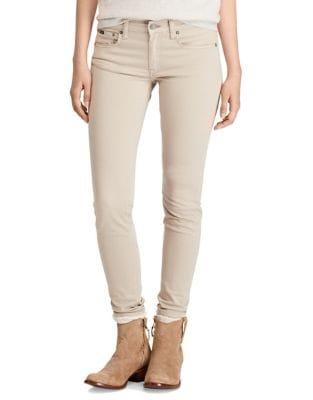 Sateen Skinny Jeans 500087794732
