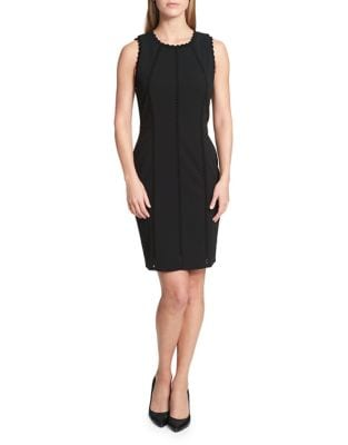 Scalloped Sheath Dress by Lauren Ralph Lauren