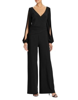 Wide-Leg Jersey Jumpsuit by Lauren Ralph Lauren