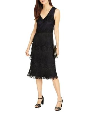 Bailey Fringe Dress by Phase Eight