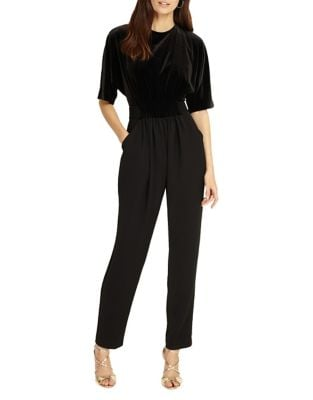 Neha Velvet Jumpsuit by Phase Eight