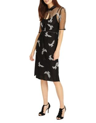 Mira Embroidered Dress by Phase Eight