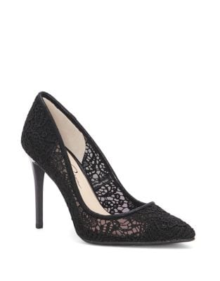 Praylee2 Embroidered Lace Pumps by Jessica Simpson