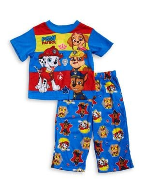 Baby Boys TwoPiece Top and Pants Pajama Set