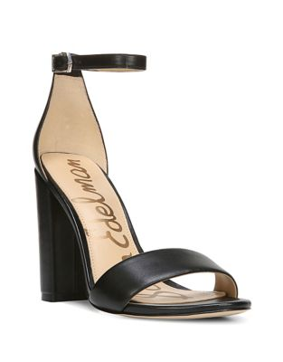 Yaro Leather Ankle-Strap Sandals by Sam Edelman