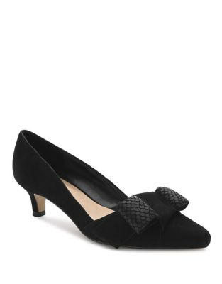 Maizy Suede Pumps by Tahari