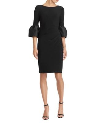 Taffeta Jersey Sheath Dress by Lauren Ralph Lauren