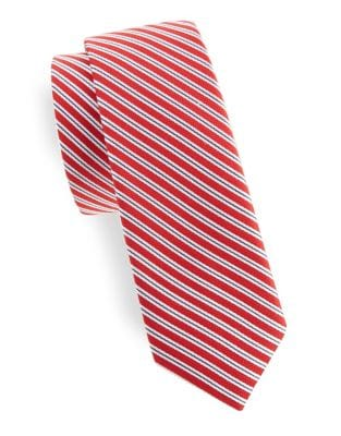 Boy's Alex Striped Silk...