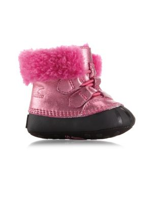 Baby Girls ShearlingLined Boots