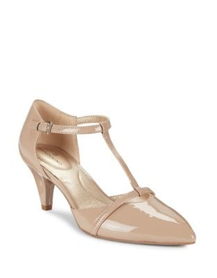 Jamee T-Strap Pumps by Bandolino