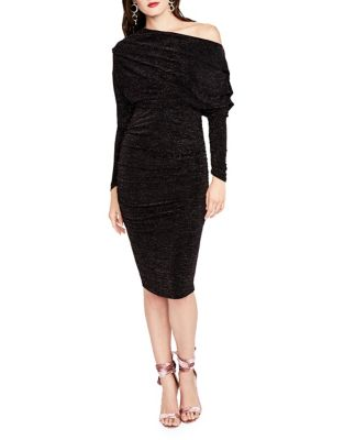Off-The-Shoulder Jersey Midi Dress by RACHEL Rachel Roy