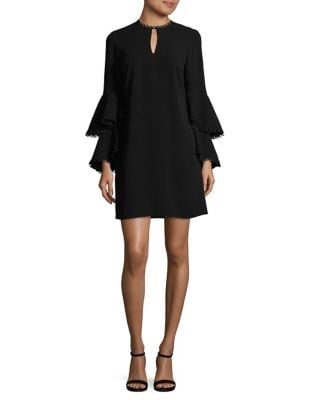Tiered Bell Sleeve Dress by Shoshanna