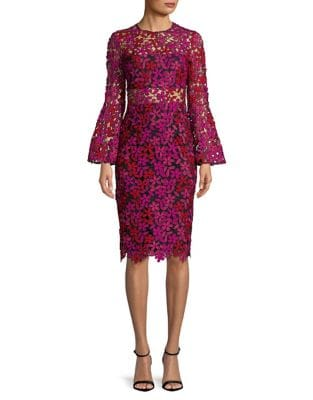 Floral Lace Dress by Lauren Ralph Lauren