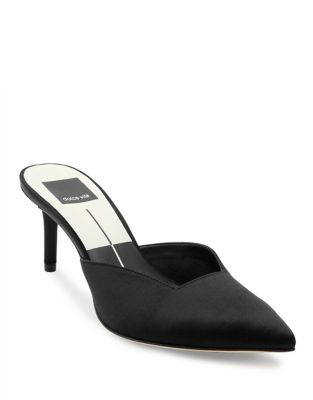 Ryhme Satin Mules by DV by Dolce Vita