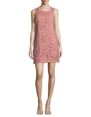 Leah Garden Floral Lace Shift Dress by Cynthia Steffe