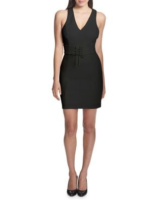 Self-Tie Sleeveless Dress by Guess