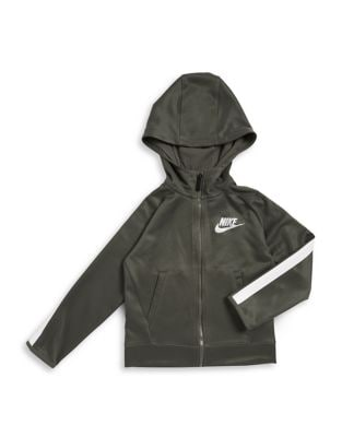 Little Boys Hooded Zip Jacket