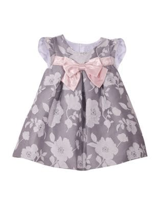 Baby Girls Social Jaquard Dress