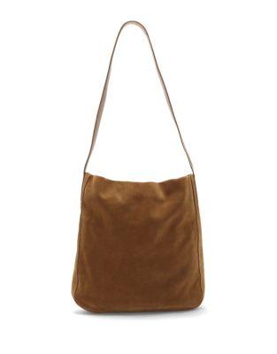 Suede Shoulder Bag 500087817317