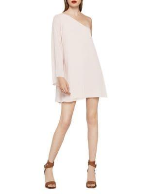 Chiffon One-Shoulder A-Line Dress by BCBGeneration