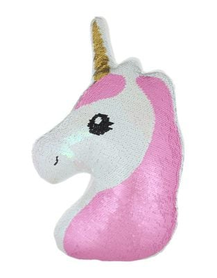 Unicorn Sequined Pillow 500087818633
