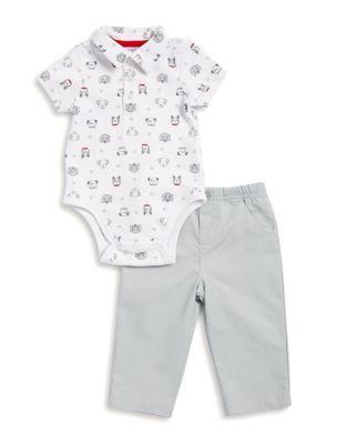 Baby Boys TwoPiece Bodysuit and Pants Set