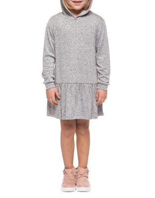 Little Girls Hooded Dress