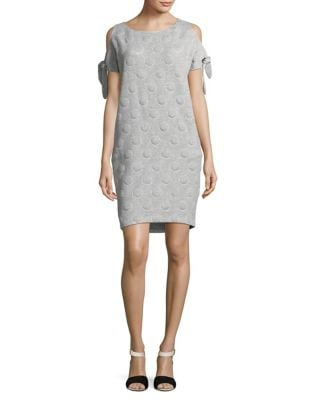 Cold-Shoulder Sweater Dress by AQ/AQ