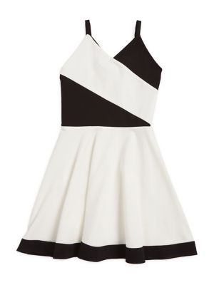 Girls The Michele Pleated FitandFlare Dress