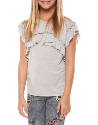 Girls Extended Shoulder Top