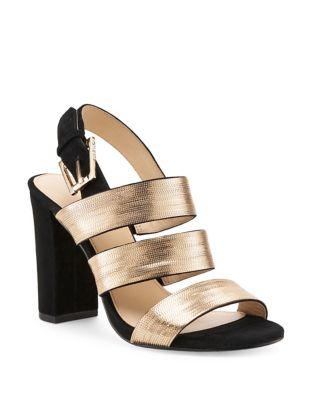 Genesa Suede Sandals by Botkier New York