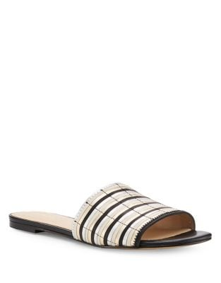 Marley Leather Slides by Botkier New York