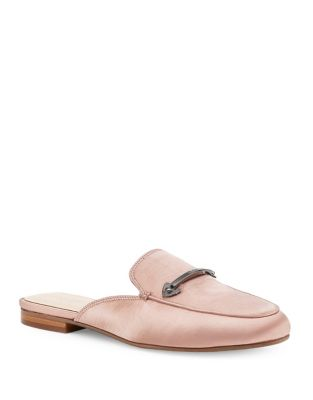 Clare Satin Mules by Botkier New York