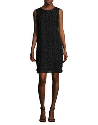 3D Floral Sleeveless Dress by Karl Lagerfeld Paris