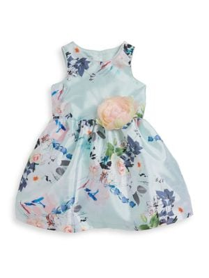 Little Girl's Floral-Print Dress 500087837446