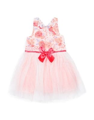 Little Girl's Floral Fit-&-Flare Dress 500087837595