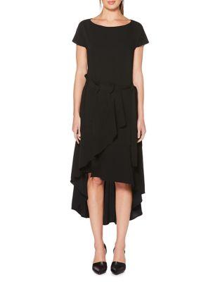 Asymmetric Midi Dress by Laundry by Shelli Segal