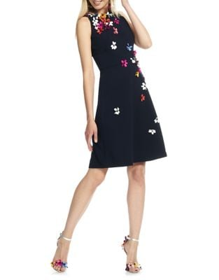 3D Floral Mini Dress by Theia
