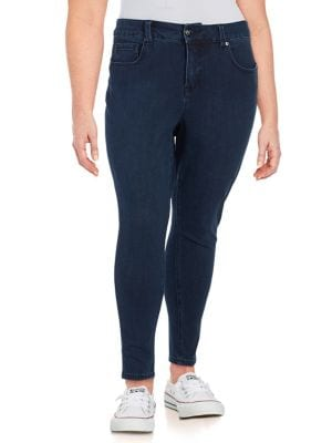 Plus High-Waisted Skinny Jeans 500087846823
