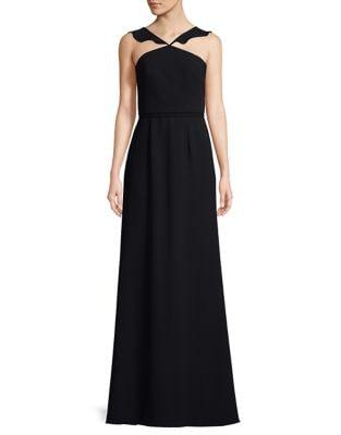 Halter Evening Gown by ML Monique Lhuillier