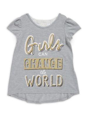 Little Girl's Girls Can...