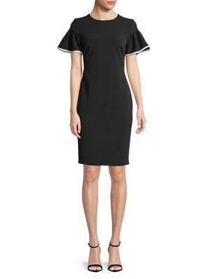 Butterfly-Sleeve Dress 500087856077