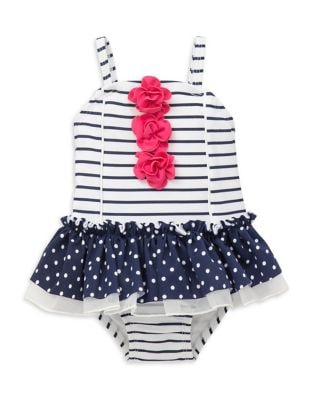 Baby Girl's Striped and...