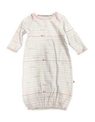 Baby Girls Envelope Neck Cotton Gown