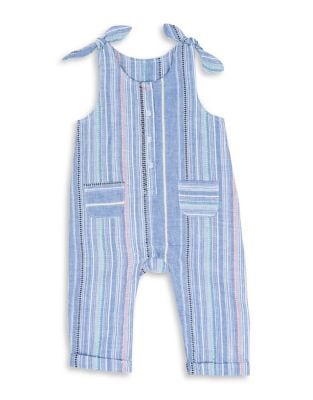 Baby Girl's Striped Cotton...
