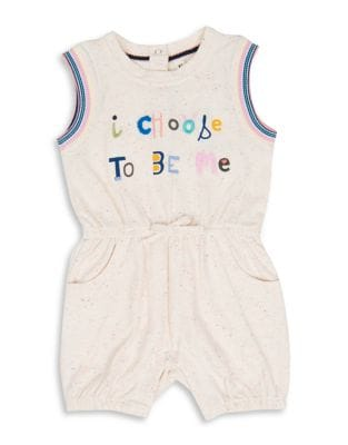 Baby Girls I Choose to Be Me Romper